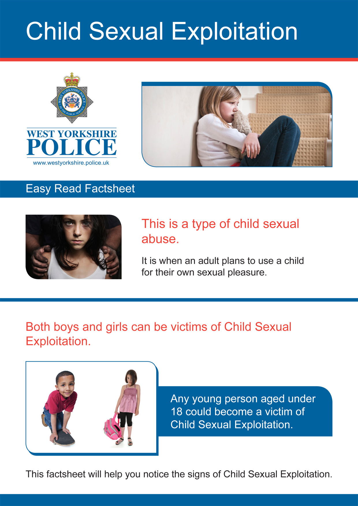 Easy Read - Child Sexual Exploitation (PDF)