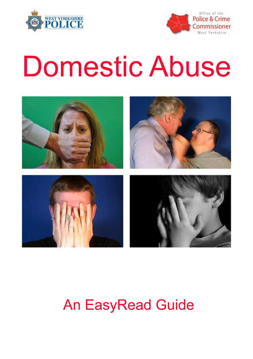 Easy Read - Domestic Abuse (PDF)