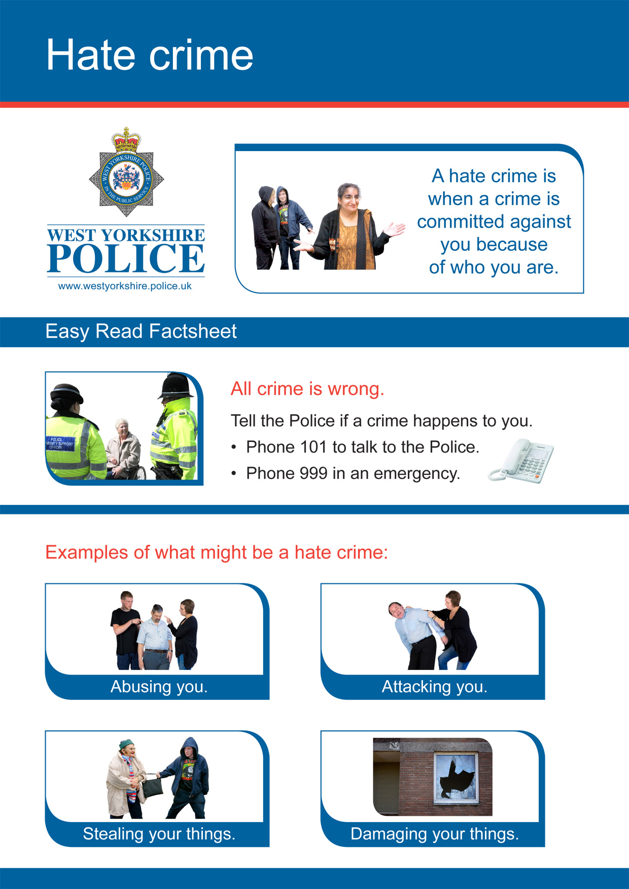 Easy Read - Hate Crime Mystery Shopper (PDF)