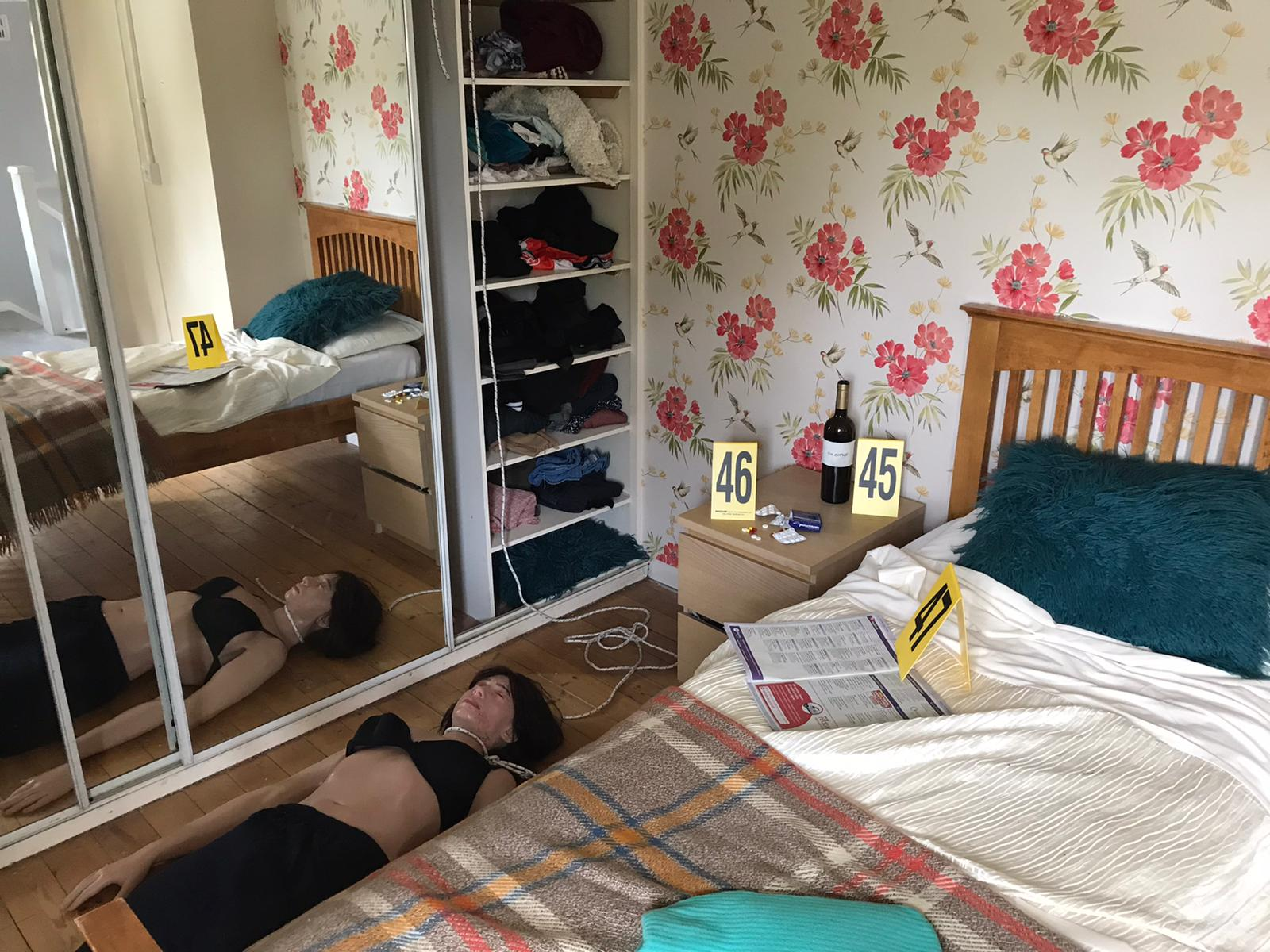 Bedroom at CSI training centre