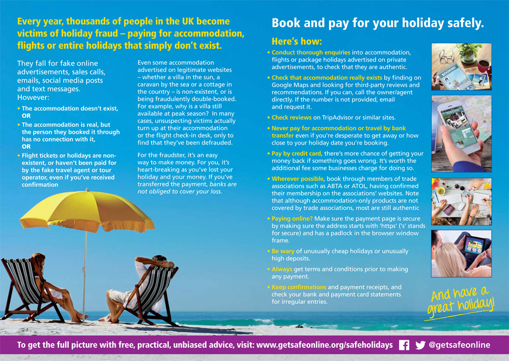 Holiday Fraud Leaflet