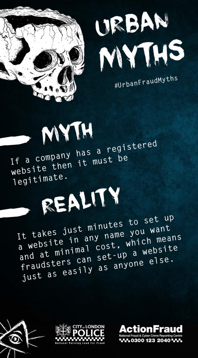 Myth 11 (Legitimate Websites)