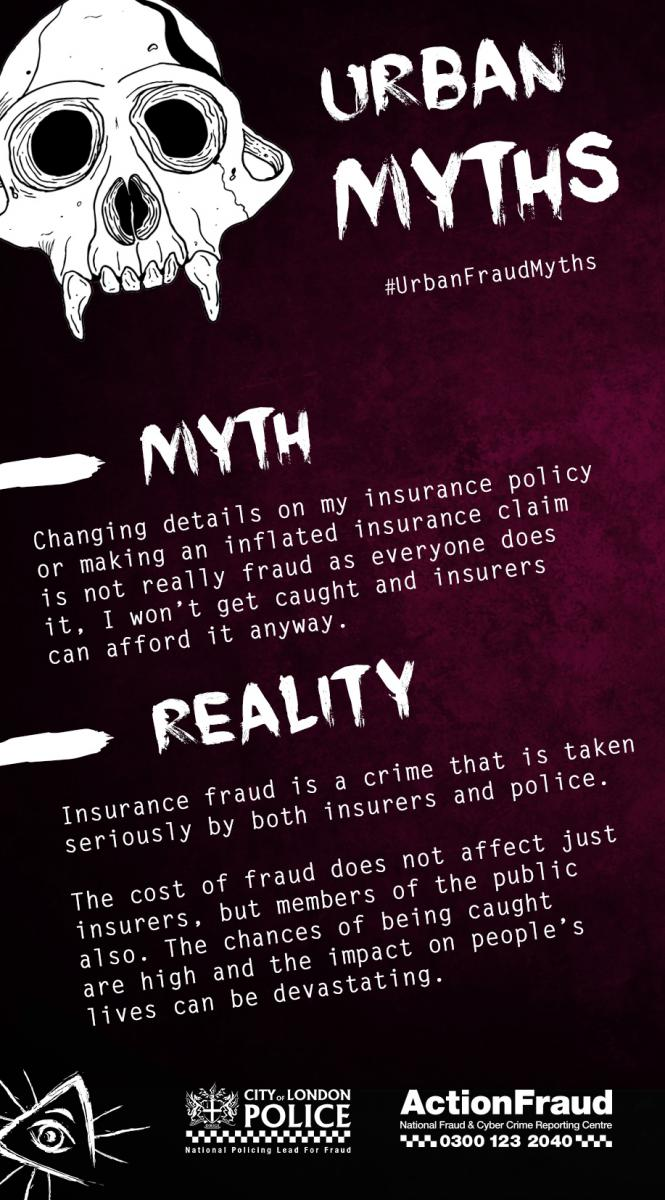 Myth 7 (Insurance Fraud)