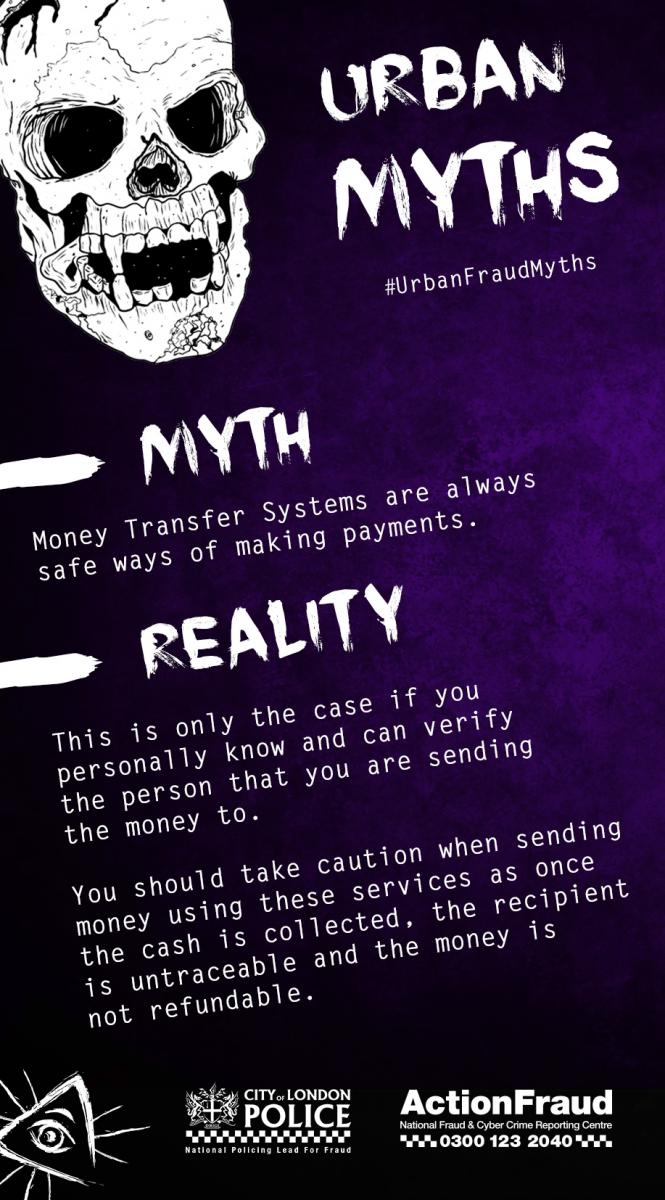 Myth 8 (Money Transfer Systems)