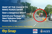 Op Snap - poster 1 - snap up the chance to make roads safer