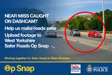 Op Snap - poster 2 - spotted a near miss - report it